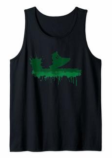 Jetski Green Splatter Jet Skiing Water Sports Gift Tank Top