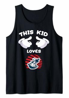 Jetski This Kid Loves Jet Skiing Water Sports Gift Tank Top