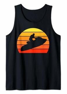Retro Vintage Jet Ski Shirt  Tank Top