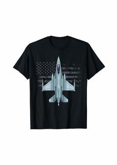 US Jet Fighter Jet Plane Pilot Gift T-Shirt