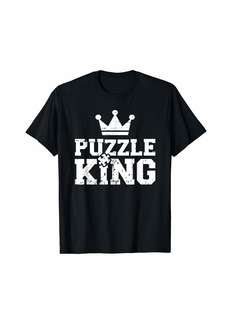 Jigsaw puzzle king T-Shirt