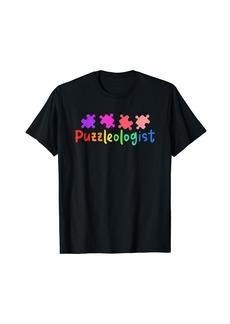 JIGSAW PUZZLE: Puzzleologist T-Shirt