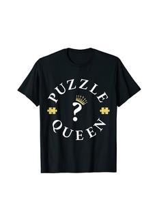 Puzzle Queen Jigsaw Lover T-Shirt