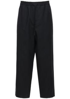 Jil Sander 20cm Fine Wool Gabardine Pants