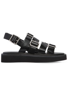 Jil Sander 20mm Buckled Leather Sandals