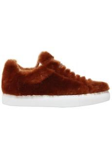 Jil Sander 20mm Merino Fur Sneakers
