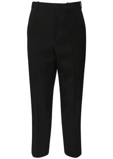 Jil Sander 25cm Fluid Wool Gabardine Pants