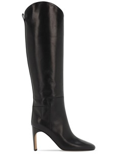 Jil Sander 90mm Leather Tall Boots