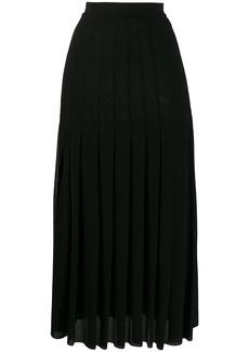 Jil Sander a-line long skirt