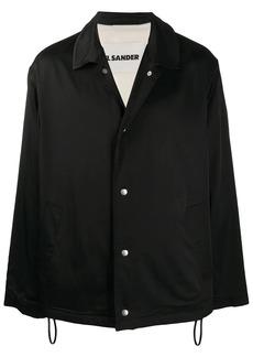 Jil Sander abstract animal-print jacket