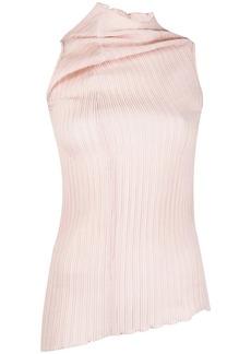 Jil Sander asymmetric high-neck top