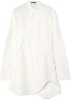Jil Sander Asymmetric Satin Shirt