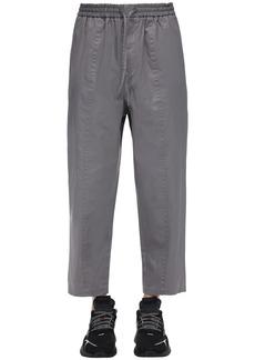 Jil Sander Baggy Cotton Gabardine Pants