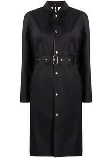 Jil Sander belted mid-length coat