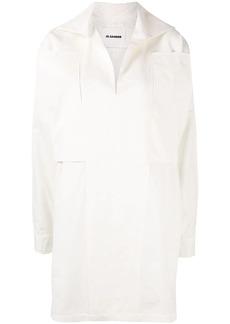 Jil Sander belted oversized tunic