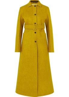 Jil Sander Belted Wool-blend Felt Coat