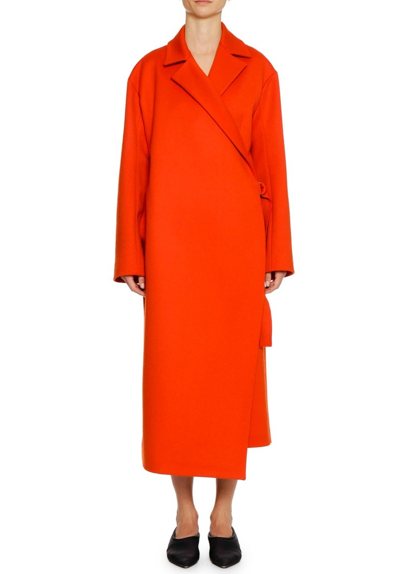 cheap sale great variety models outlet store Belted Wool/Cashmere Wrap Coat