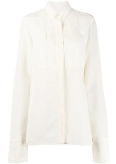 Jil Sander bib panel shirt