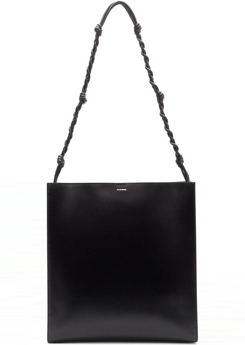 Jil Sander Black Large Tangle Shoulder Bag