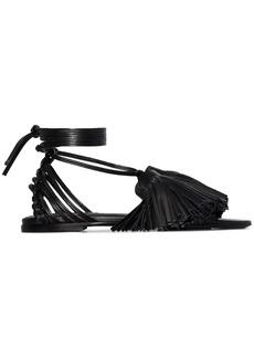 Jil Sander tassel self-tie sandals