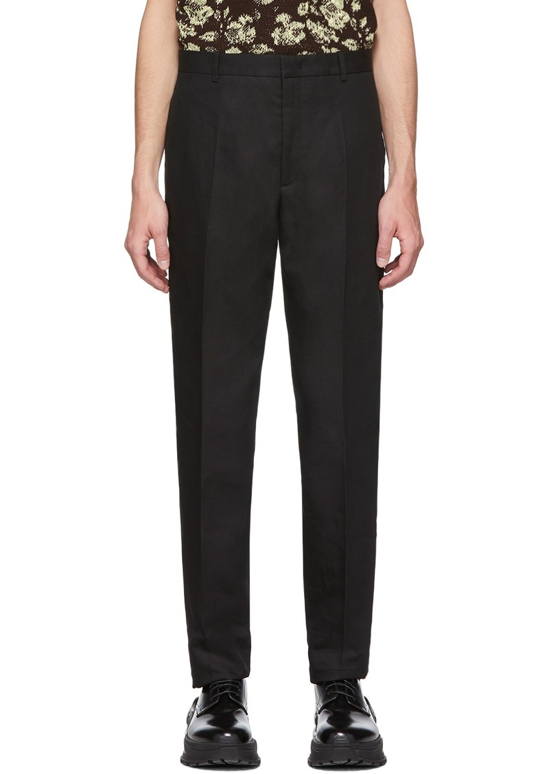 Jil Sander Black Thynne Trousers