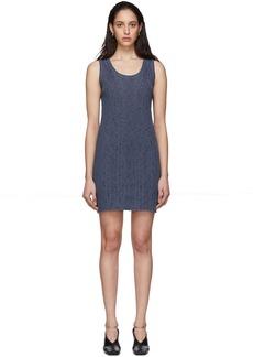 Jil Sander Blue Knit Dress