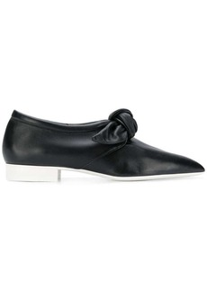 Jil Sander bow front slippers