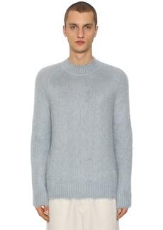 Jil Sander Brushed Silk & Mohair Sweater