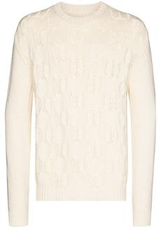 Jil Sander cable-knit jumper