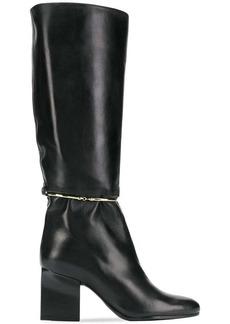 Jil Sander calf length boots