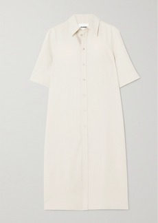 Jil Sander Canvas Shirt Dress