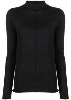 Jil Sander cashmere knit mock neck jumper