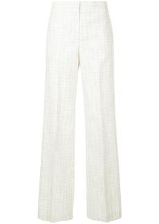 Jil Sander check print trousers