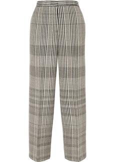 Jil Sander Checked Wool-blend Pants