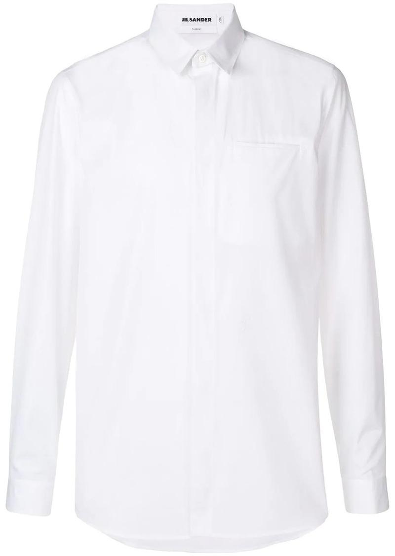 Jil Sander chest pocket shirt