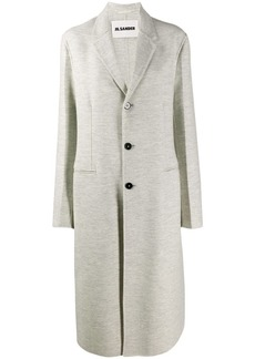 Jil Sander classic single-breasted coat