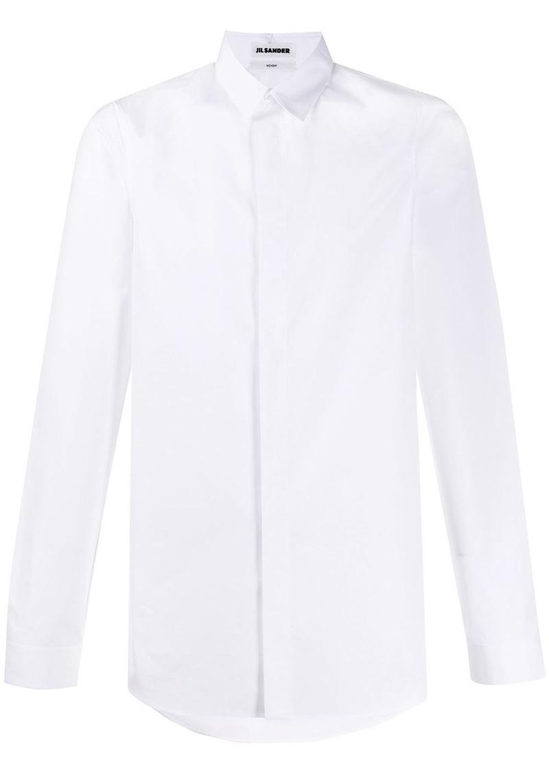 Jil Sander concealed placket shirt