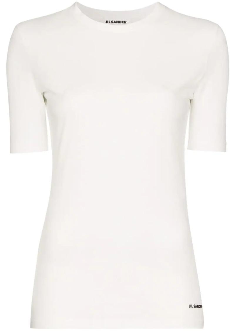 Jil Sander contrast logo T-shirt