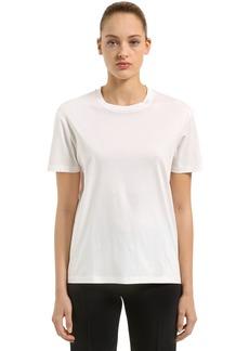 Jil Sander Cotton Jersey T-shirt