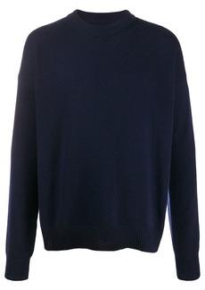Jil Sander crew neck cashmere jumper