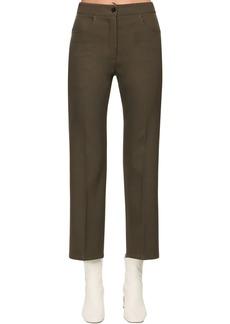 Jil Sander Crop Wool Pants