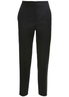 Jil Sander Cropped Raw Wool Twill Regular Pants