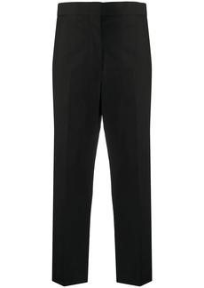 Jil Sander cropped slim-fit trousers