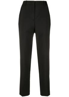 Jil Sander cropped straight leg trousers