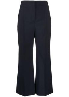 Jil Sander cropped wide leg trousers