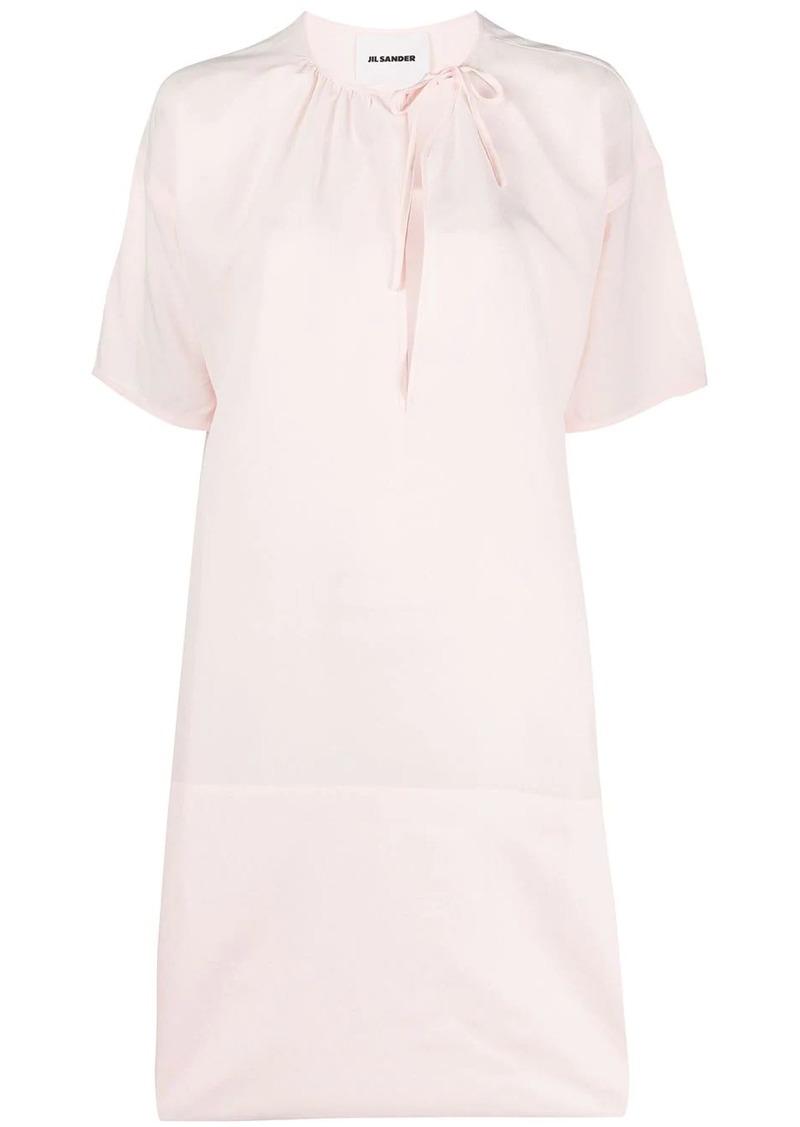 Jil Sander cut-out midi dress