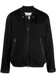 Jil Sander detachable-panel bomber jacket