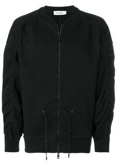 Jil Sander drawstring bomber jacket