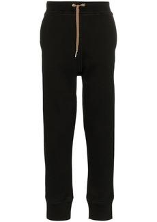 Jil Sander drawstring cotton blend track pants
