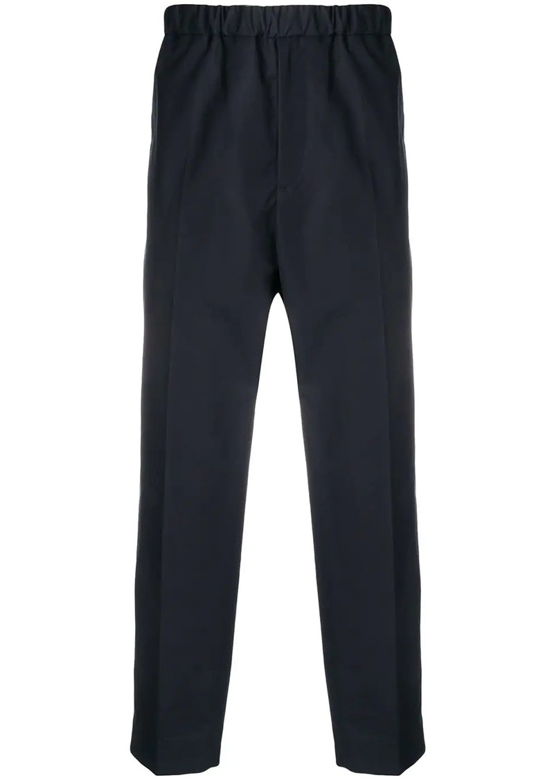 Jil Sander drop-crotch trousers